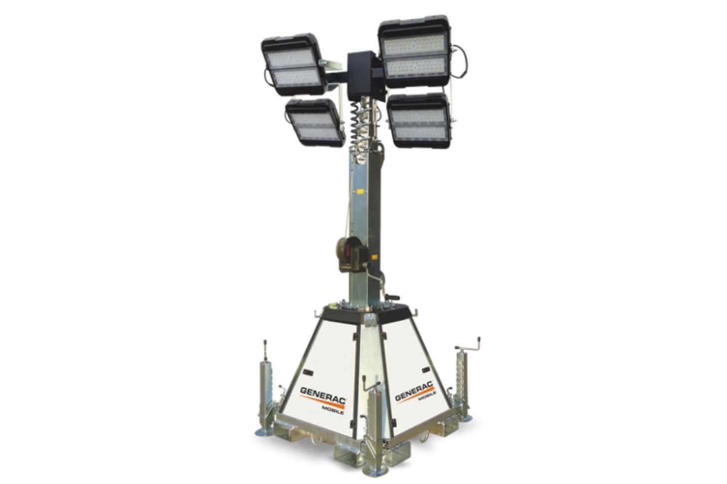 GENERAC MOBILE CTF 10 Электрическая осветительная мачта