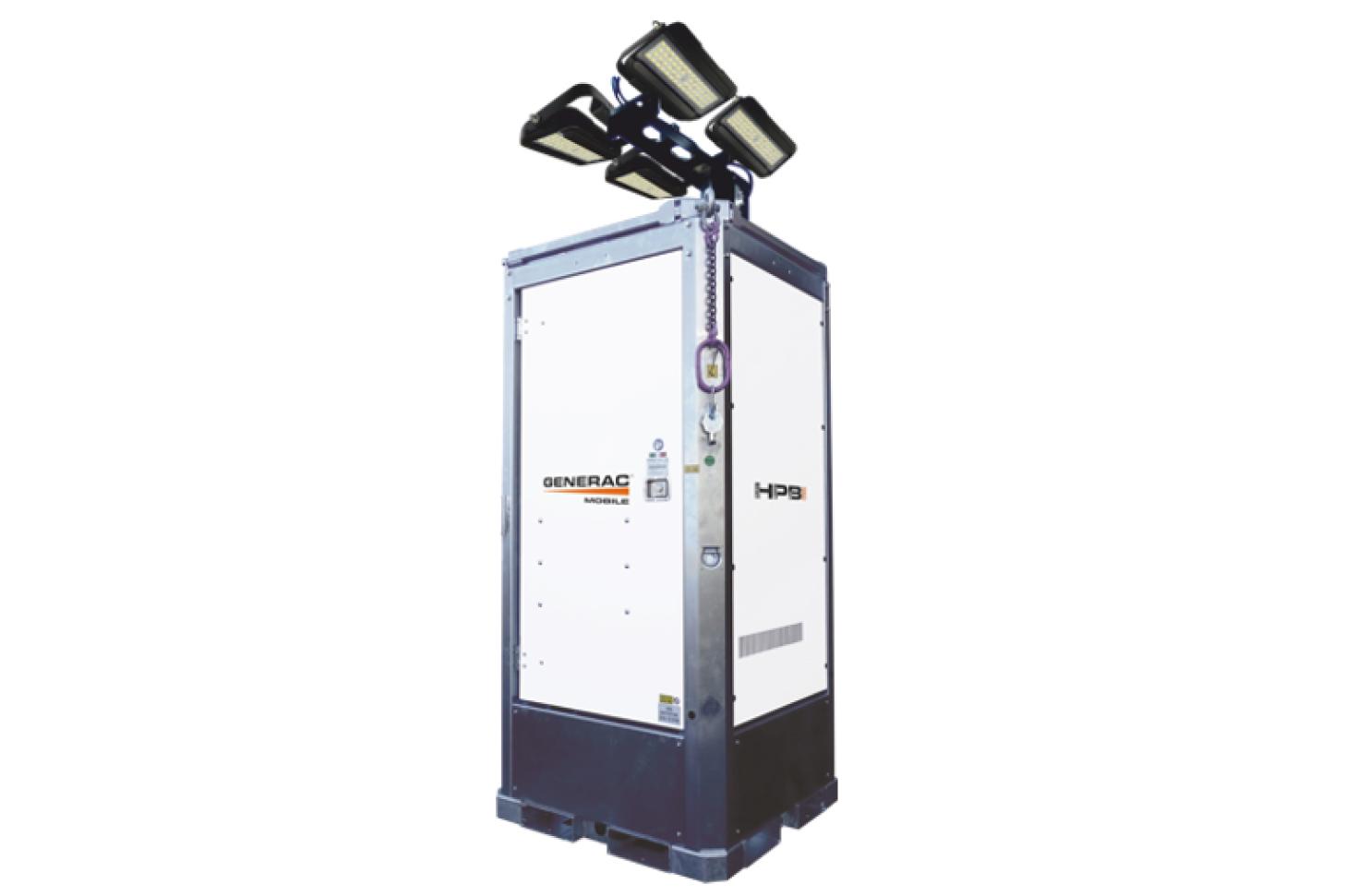 GENERAC MOBILE Hydro Power Box Hybrid Гибридная осветительная мачта