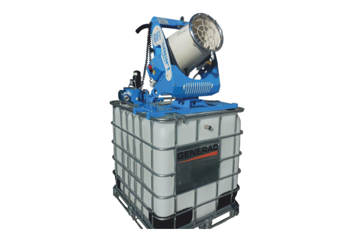 DF Smart All In One Generac Mobile Установка подавления пыли