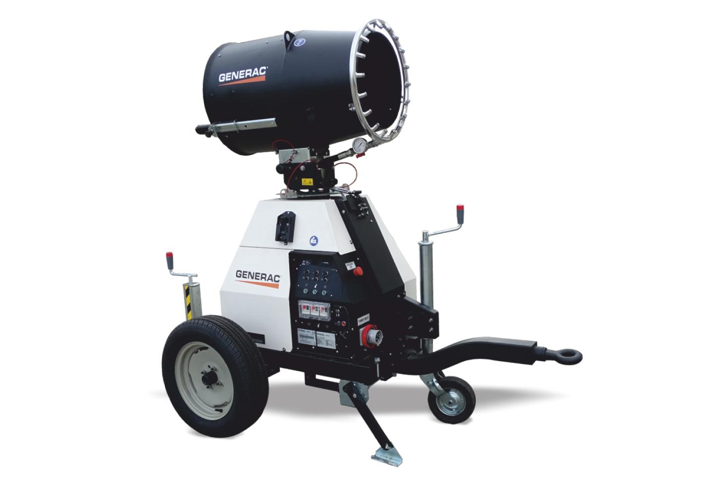 DF 4500 Generac Mobile Установка подавления пыли