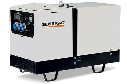 GMP-11000P Generac Mobile Генератор дизельный