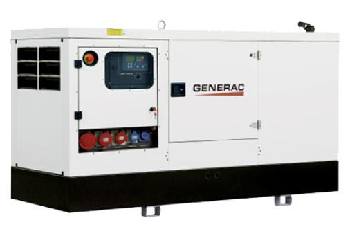 GMS-80P Generac Mobile Генератор трехфазный дизельный
