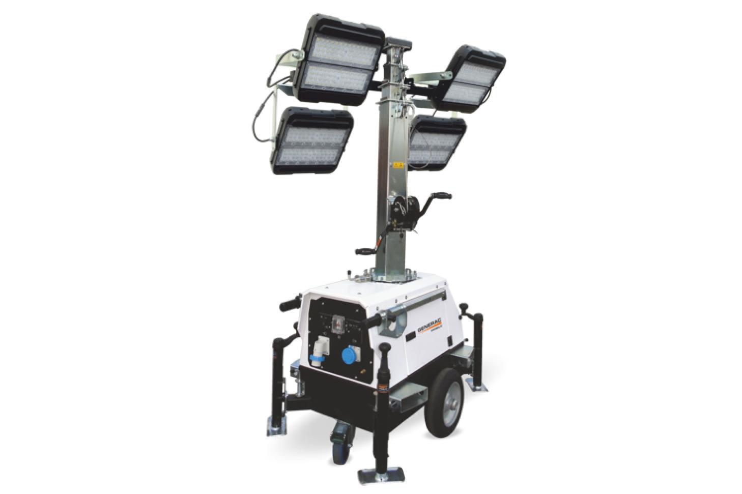 GENERAC MOBILE Linktower LED Электрическая осветительная мачта