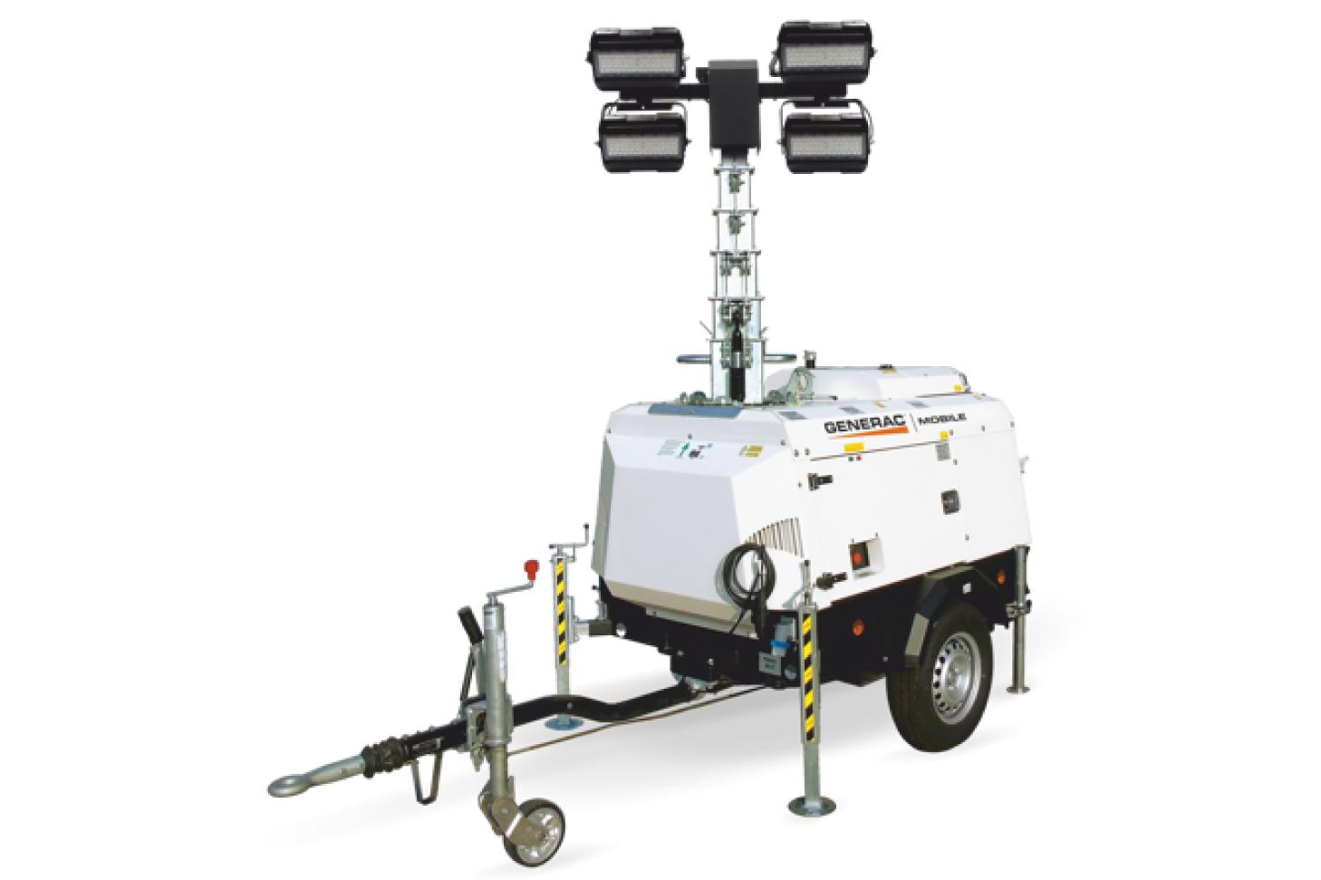 GENERAC MOBILE VT-Hybrid Гибридная осветительная мачта