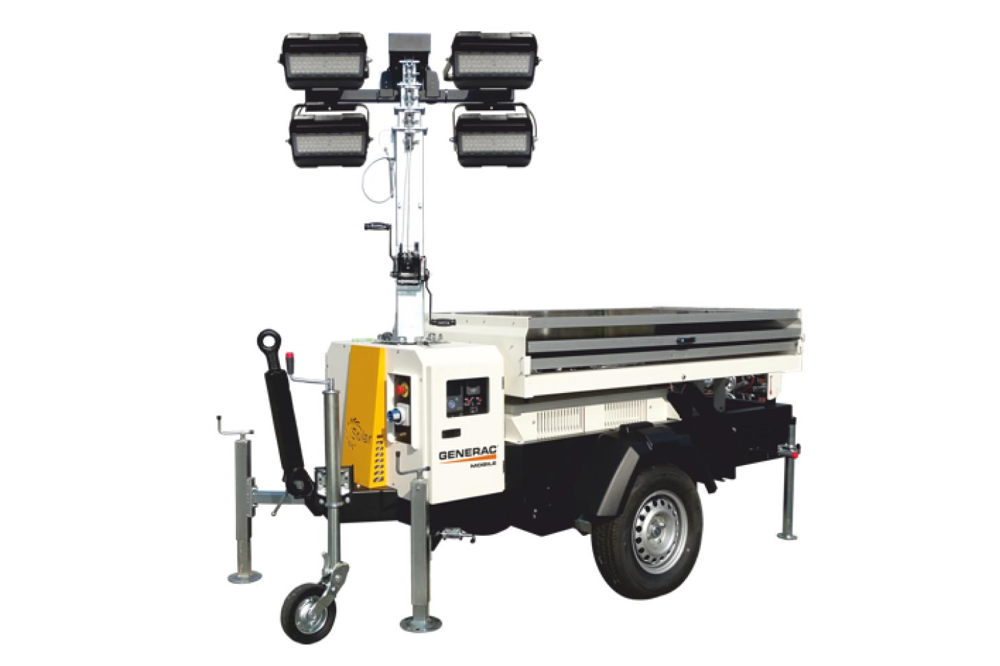 GENERAC MOBILE VT-Solar Электрическая осветительная мачта