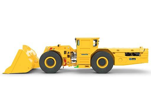 Komatsu WX07 Погрузочно-доставочная машина для твердых пород